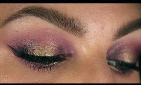 Purple & Gold Smokey Eyes ♥ Perfect for Brown/Hazel Eyes!