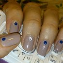 Nude + blue dots (1)