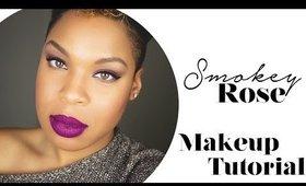 Smokey Rose Makeup Tutorial for Beginners
