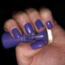 Purple with pink undertone sparkles