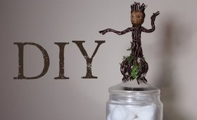DIY: Baby Groot Jar