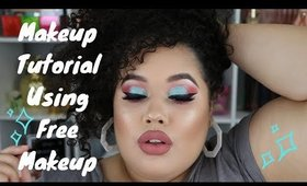A Gift From A Virgo S1 E1: Makeup Tutorial Using Free Makeup