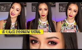 Colorful Berry Eyeshadow Makeup Tutorial ft. Alice Through The Looking Glass Palette