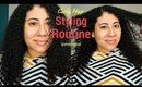 Curly Hair Styling Routine (2017)