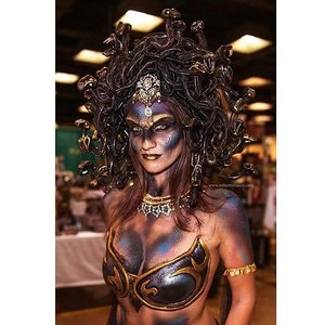 Hartford Comic Con 2015  Model/costume: Julia Williams Makeup/fabrication: myself Second makeup/fabrication: Phil Gardner