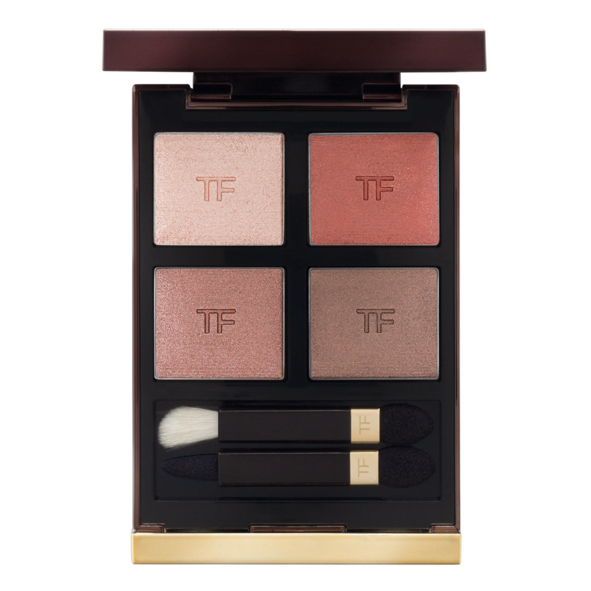 TOM FORD Eye Color Quad Body Heat product swatch.
