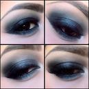 Blue Smoky eyes