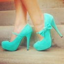 Cute Bow Shoes