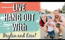 🎥 LIVE Hangout & Q&A  🥳 Brylan and Lisa