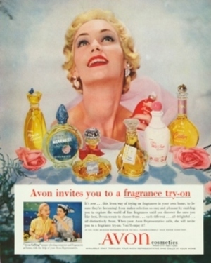 1950s Avon Perfume Ad