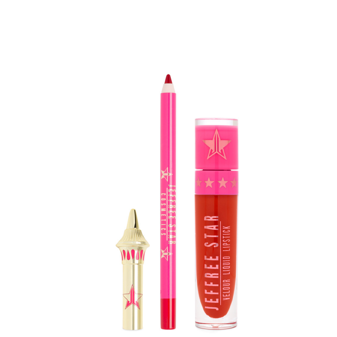 Jeffree Star Cosmetics Velour Lip Kit Redrum alternative view 1.