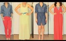 Spring 2012 Haul & Outfits