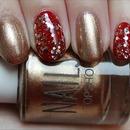 Super Bowl San Francisco 49ers Nails