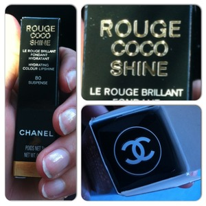 Beautiful  Rouge coco shine suspense chanel  In my pocket   Im very happy 💋❤💄