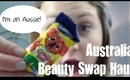 Australia Beauty Swap Haul {Products from AmieLovesMakeup}