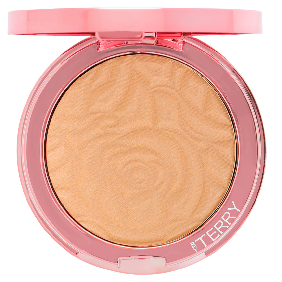 BY TERRY Brightening CC Serum Powder Apricot Glow product smear.