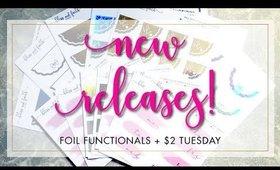 New Releases | Foiled Functionals + $2 Tuesday | Bliss & Faith Paperie