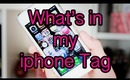 What's in my iphone Tag
