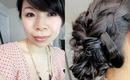 Bridal Hair Tutorial: Dutch Loop Updo