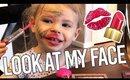 Your New Favorite Beauty Guru- Toddler Makeup Tutorial by Violet