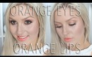 Chit Chat Tutorial ♡ Orange & Gold Eyes | Orange Lips ♡
