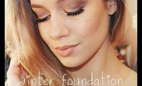 Winter Foundation Routine ❄️ !