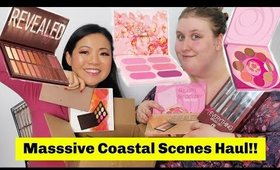 Massive Coastal Scents Makeup Haul (Revealed Palettes)