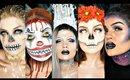 The BEST of Halloween 2016 Compilation | Julia Salvia