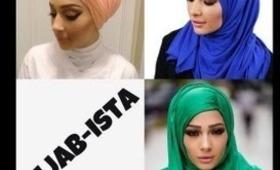 3 Different Hijab Tutorials Feat. Hijab-ista's Maxi Jersey Hijab's !:)