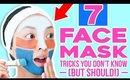 7 Clever Tricks For Face Masks You Don't Know (But Should!)