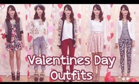 ♥Valentine's Day Outfits {Florals} 2014