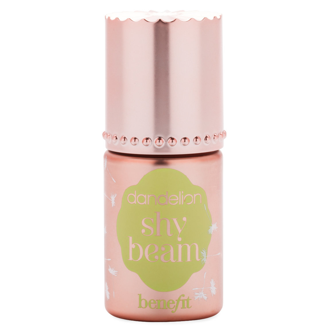 Benefit Cosmetics Dandelion shy beam Liquid Highlighter product smear.