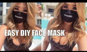 DIY FACE MASK + MAKING IT MORE FUNCTIONAL | hollyannaeree