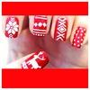 Beautiful Christmas nails