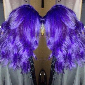 Got my purple redone finally!