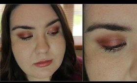 Smokey Copper Eyes Makeup Tutorial  MakeupByLaurenMarie