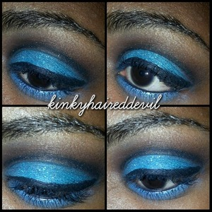 look using my coastal scents 252 palette.