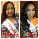 Pageant makeup and hair by me