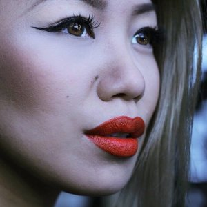 Follow me  IG/Twitter @mayonguyen  Any season. RED #ladydanger from @maccosmetics  FACE : @lorealpariscan matte foundation and powder CHEEKS : #benefitcosmetics in #hoola  LINER: @annabellecosmetics #eyeink  MASCARA : #lorealpariscan #voluminous