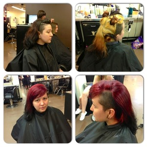 One of my clients at Douglas J Aveda