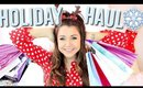 Holiday Haul + Christmas Shopping!!!