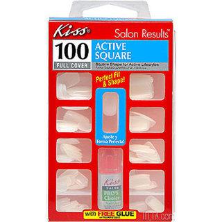 Kiss Full Cover Artificial Nail Kit