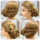 Elegant Bridal Braid Updo