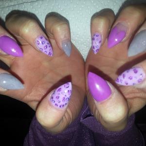 #purplenails
