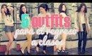 Outfits para la escuela/colegio - Regreso a clases! /Back to school outfits por Laura Agudelo