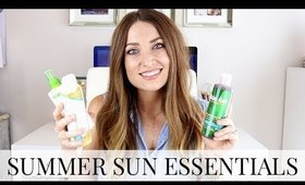 Summer Sun Essentials: Body, Face and Hair Products | Kendra Atkins