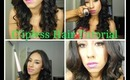 Clipless curler tutorial and review
