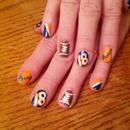 Superbowl Nails!