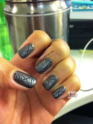 Tribal Zebra stamp