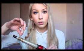Hair tutorial ft. Babyliss curling wand